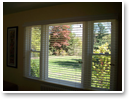 When opened, Signature Murano® fabric blinds offer virtually unobstructed views of your landscape.