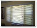 When closed, Signature Murano® fabric blinds gently filter light and offer enhanced privacy.