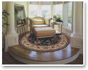 All of our area rugs are available in a variety of shapes and sizes, including round, square, and traditional rectangular.