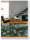 A beautiful rug brings the whole room together. Budget Blinds has area rugs made to fit your lifestyle.