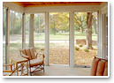 Our retractable screens create more welcoming patios, porches and gazebos.