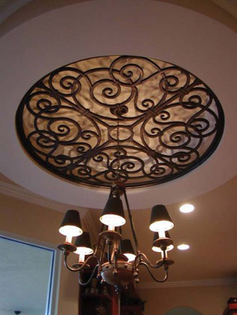 ... Faux Iron Art Is So Light, It Can Be Used To Add Visual Interest And ...
