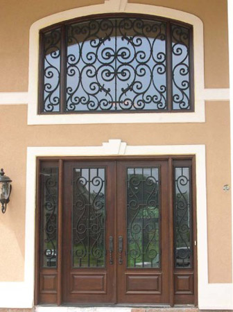 High Quality Faux Iron Art Is Custom Made For Each Application Solving The Question  About Covering Arches ...