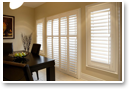 Classic looking, durable vinyl shutters can handle the toughest situations with grace.