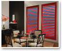 Go Bold! Choose vibrant red shutters to add an unexpected, but welcome splash of brilliant colour to your décor.