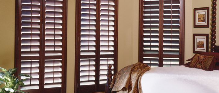 Stylish. Smart. Stately. Shutters are Haute Couture for your home. Enjoy the clean, classic lines of shutters unobstructed by cords. Motorize for the ultimate convenience.